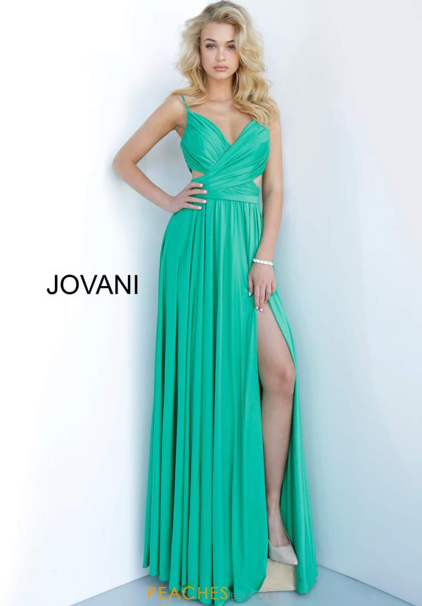 Jovani Fitted Jersey Dress 68642