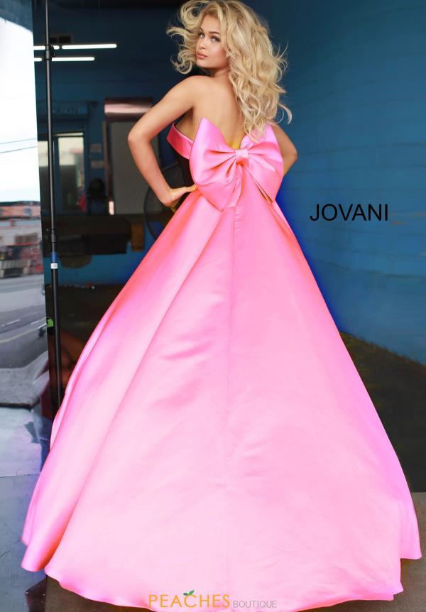 Jovani Satin Sweetheart Dress 8008