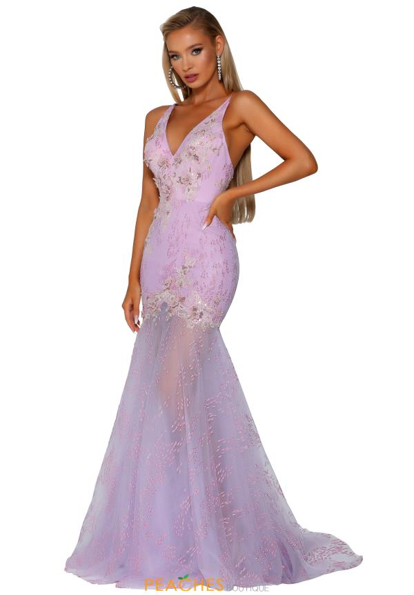 Portia and Scarlett Long Beaded Prom Dress PS6016