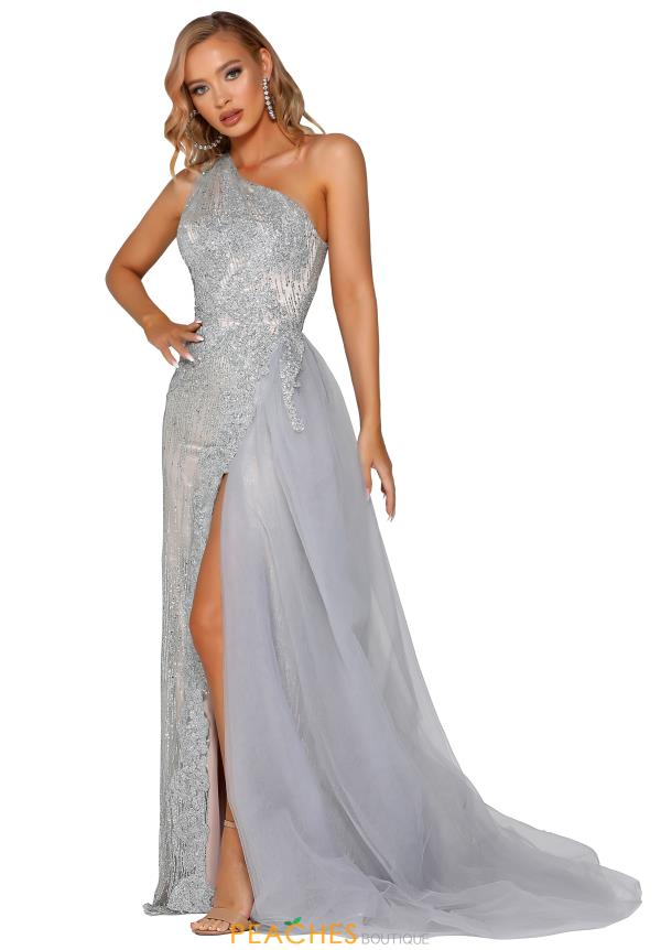 Portia and Scarlett Long Beaded Prom Dress PS6074