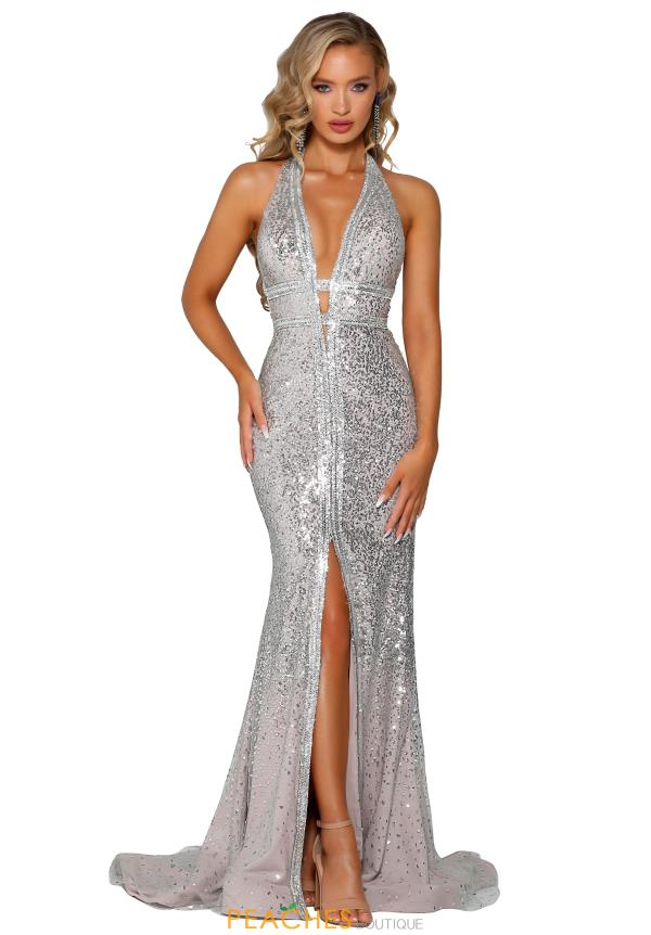 Portia and Scarlett Long Fitted Prom Dress PS6080