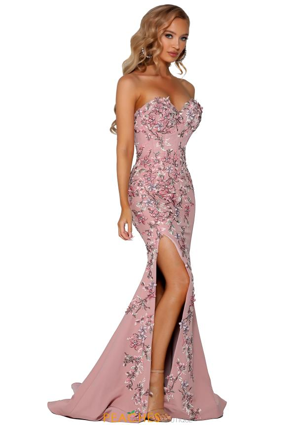 Portia and Scarlett Long Fitted Prom Dress PS6088