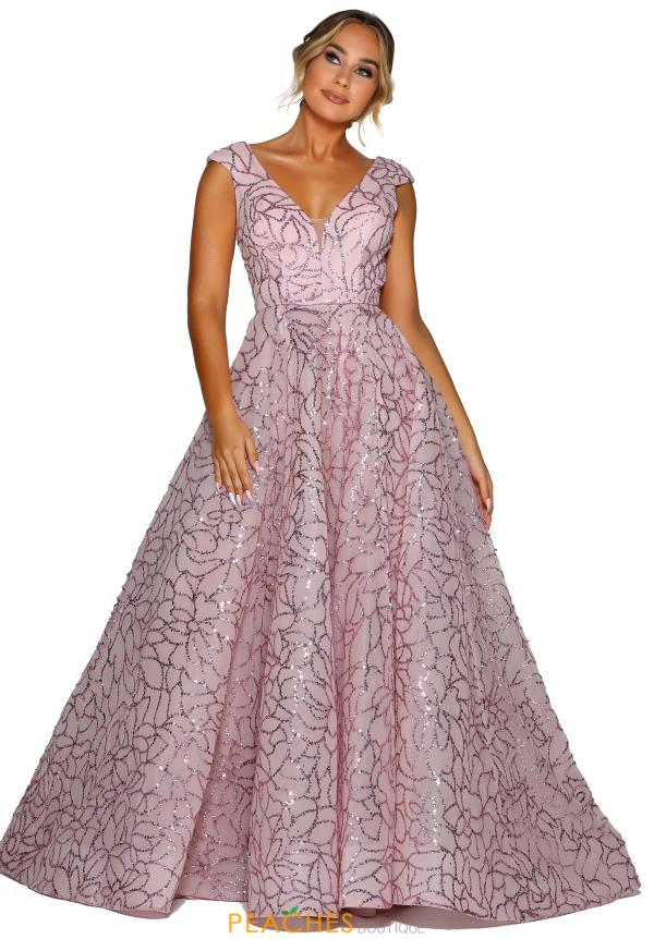 Portia and Scarlett Long Ball Gown Prom Dress PS6102