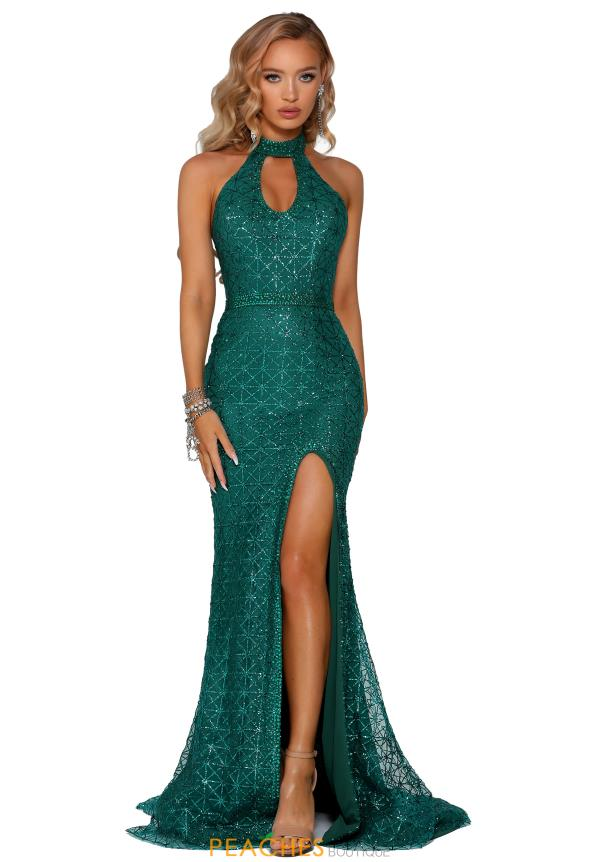 Portia and Scarlett Long Beaded Prom Dress PS6334