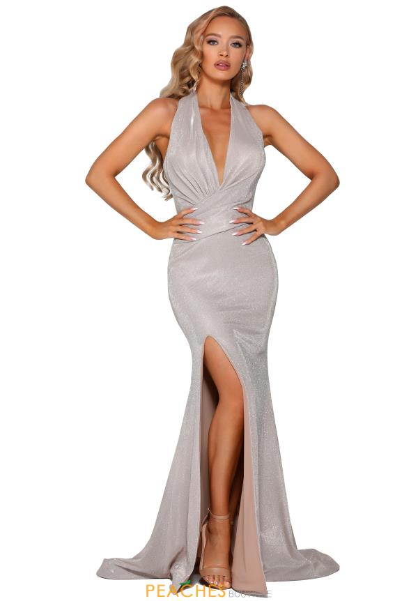 Portia and Scarlett Long Fitted Prom Dress PS6356