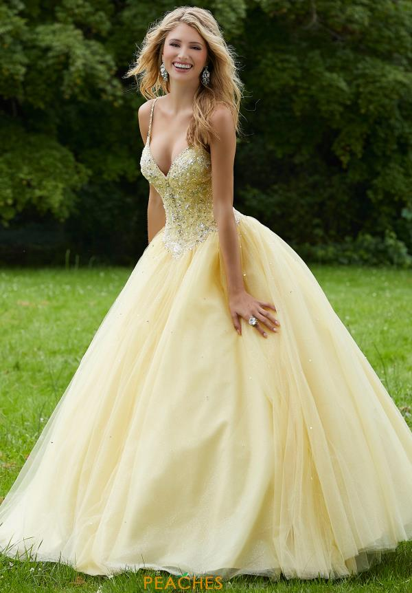 Morilee Tulle Skirt Ball Gown 45013
