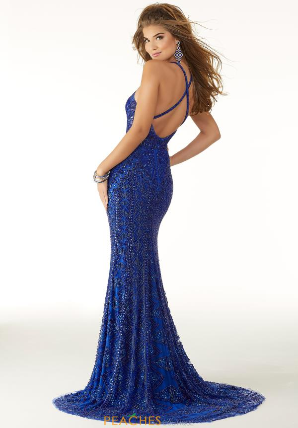 Morilee Halter Top Fitted Dress 45035