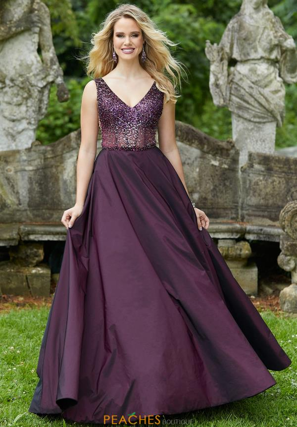 Morilee Beaded Long Dress 45037