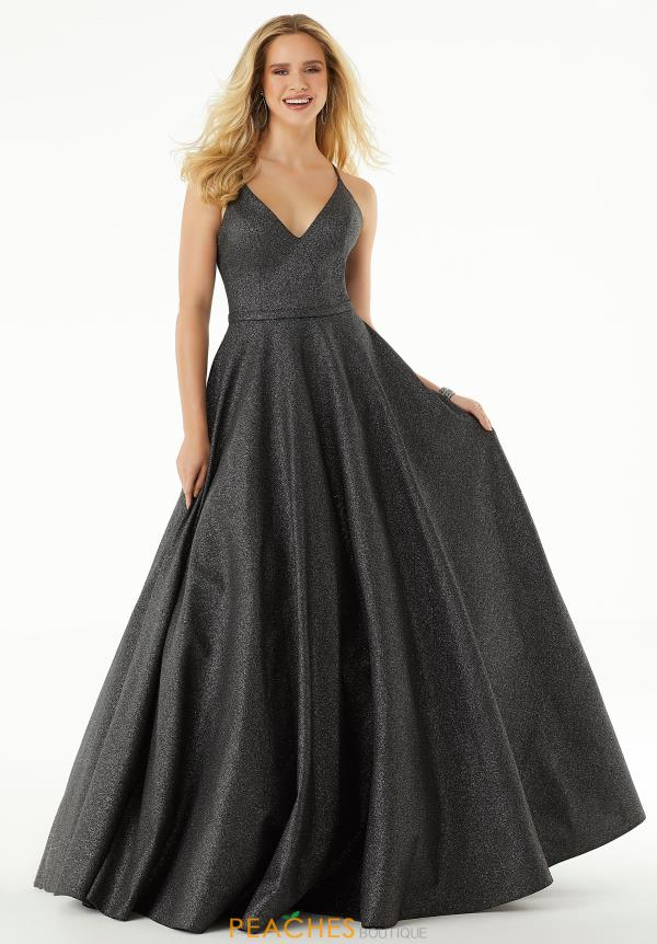 Morilee V- Neckline A Line Dress 45048