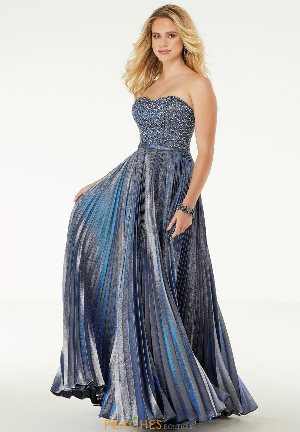 Morilee Strapless Beaded Dress 45063