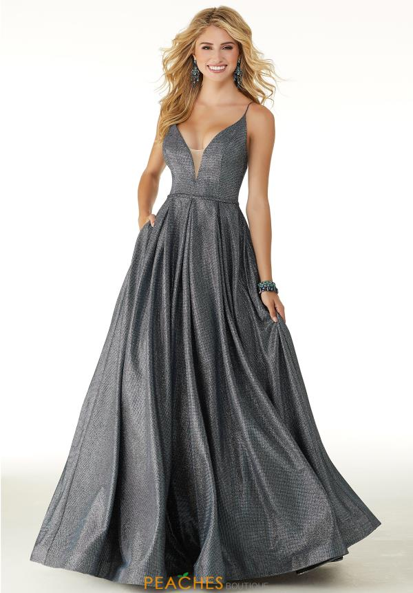 Morilee V- Neckline A Line Dress 45076