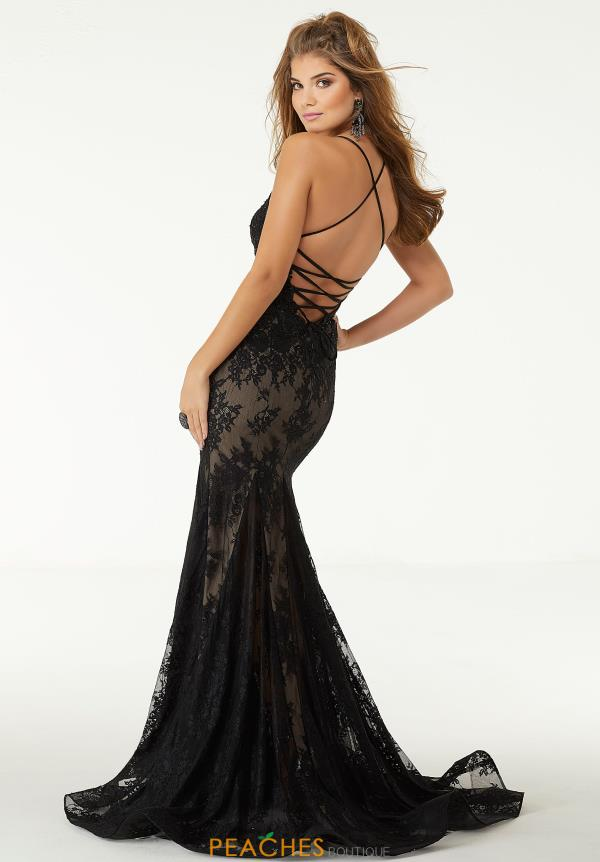 Morilee Sexy Open Back Dress 45083