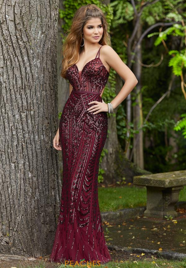 Morilee Beaded Long Dress 45092