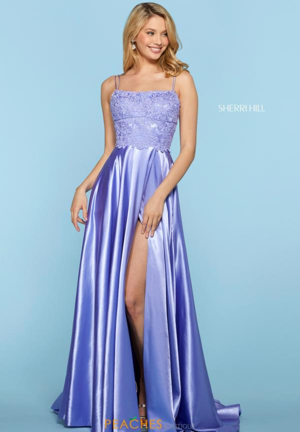 Sherri Hill Scoop Beaded Dress 53300