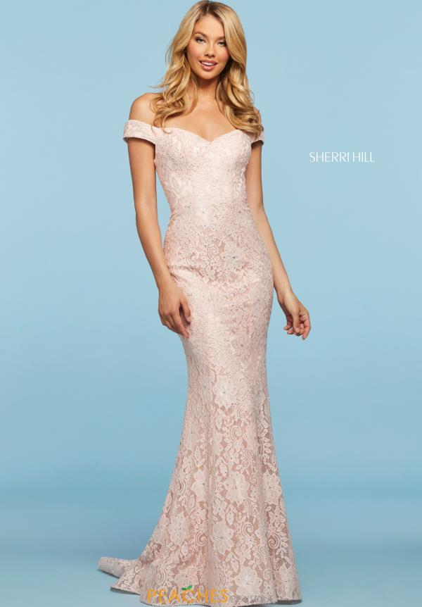 Sherri Hill Off the Shoulder Dress 53357