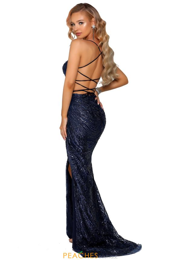 Portia and Scarlett Long Glitter Prom Dress PS6363
