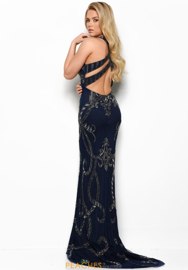 Jasz Couture Long Beaded Dress 7065