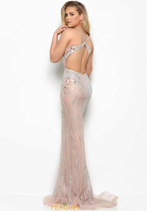 Jasz Couture Long Beaded Dress 7102