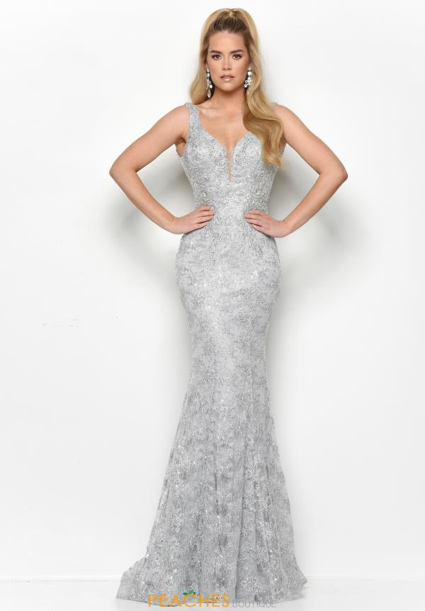 Jasz Couture Long Beaded Dress 7122