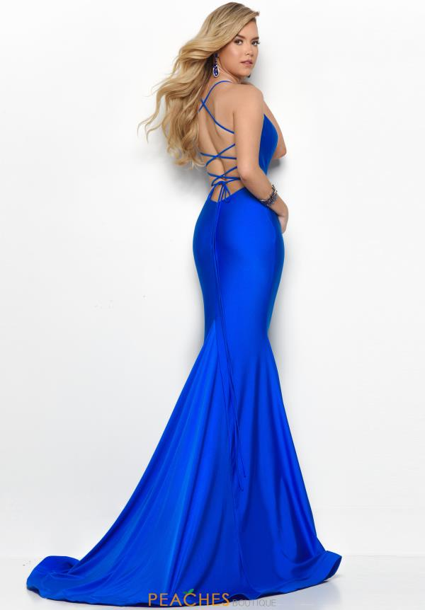 Jasz Couture Sexy Open Back Dress 7148