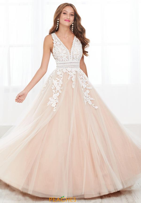 Tiffany Lace Ball Gown Dress 16391