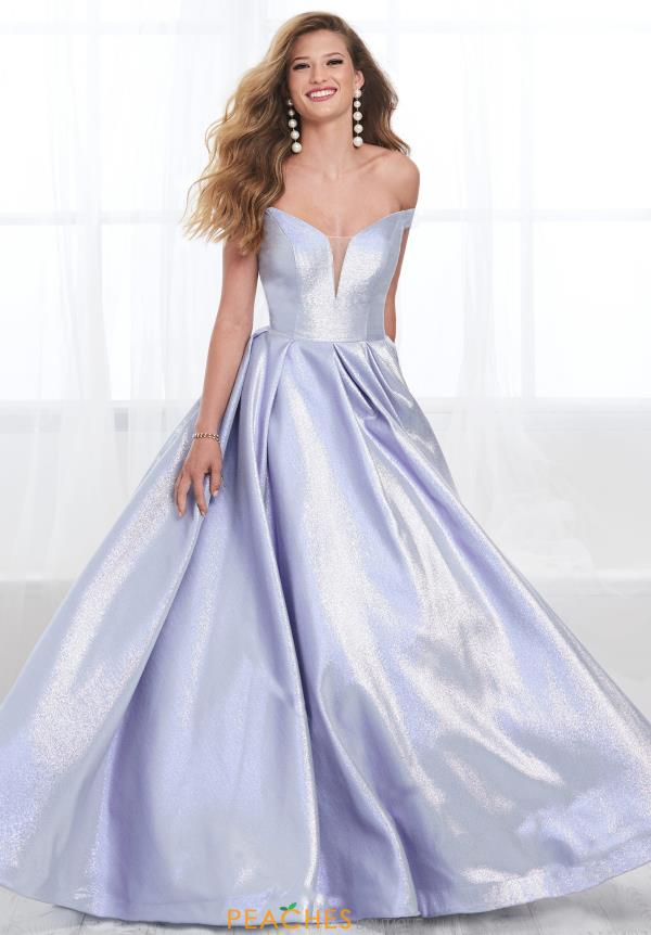 Tiffany Long Satin Dress 16399