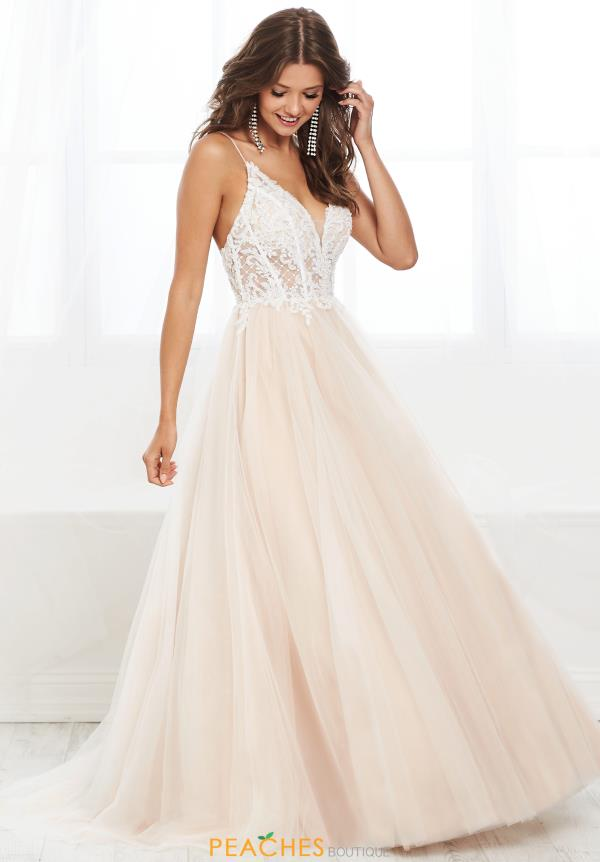 Tiffany Lace Ball Gown Dress 16402