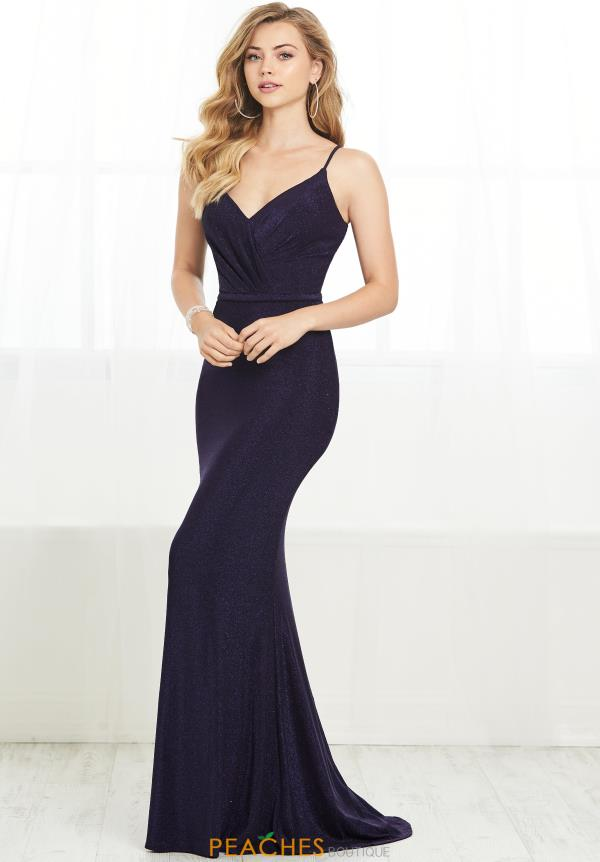 Tiffany Long Fitted Dress 16409