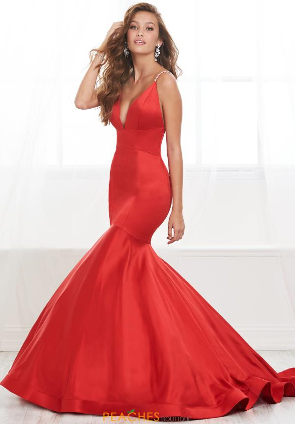 Tiffany Long Fitted Dress 16411