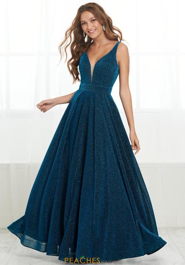 Tiffany Long A-Line Dress 16423