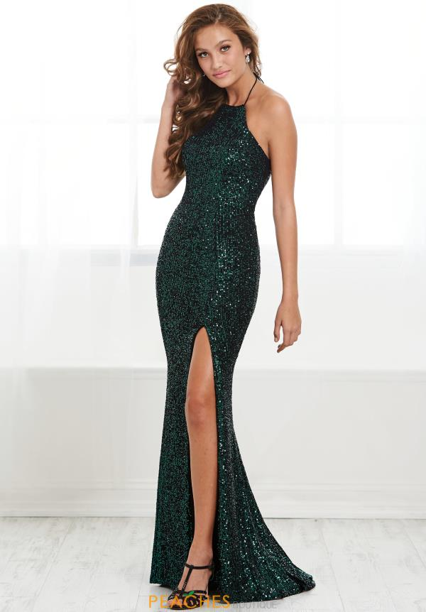Tiffany Long FItted Dress 16427