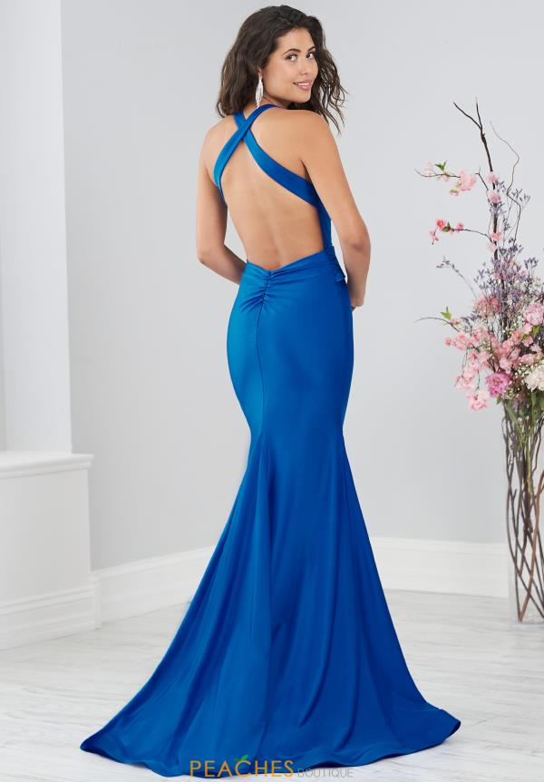 Tiffany Long Fitted Dress 46202