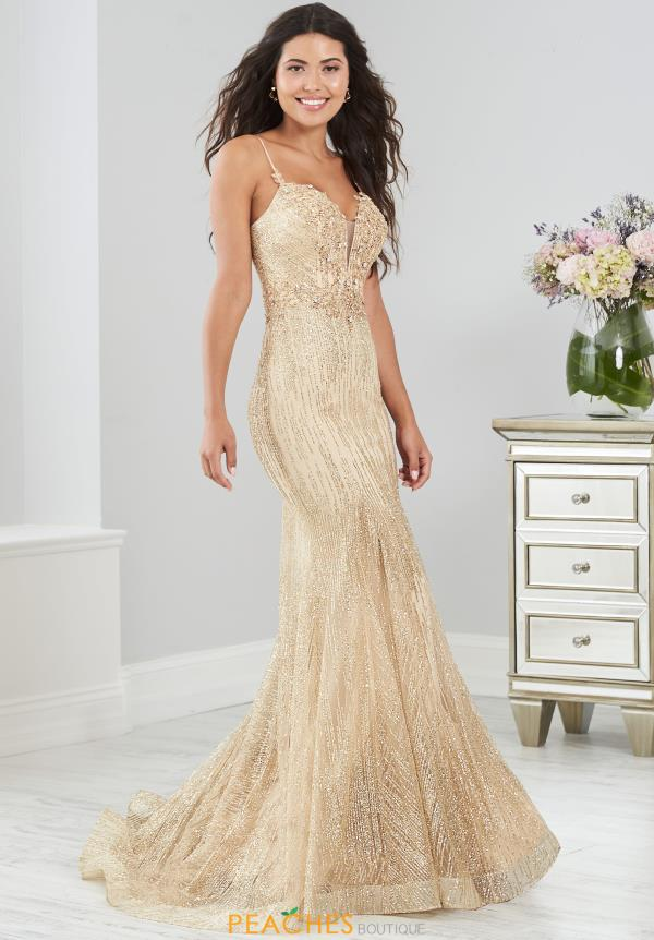 Tiffany Long Mermaid Dress 46204