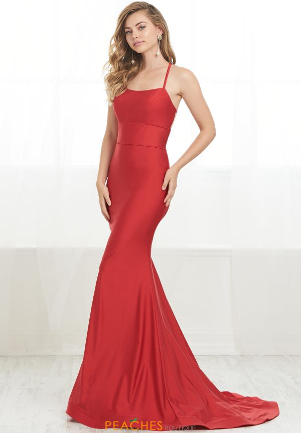Tiffany Long Fitted Dress 46209