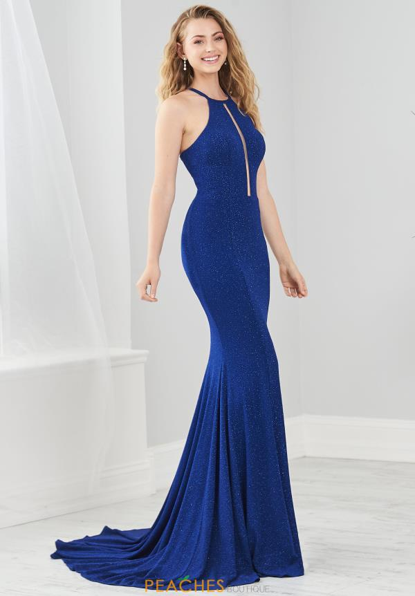 Tiffany Long FItted  Dress 46219
