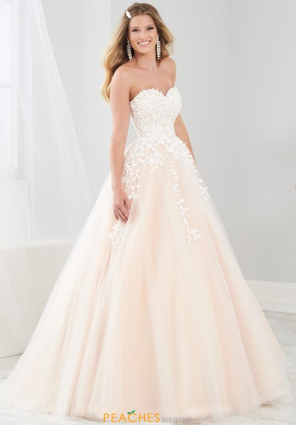 Tiffany Long Tulle Dress 46220