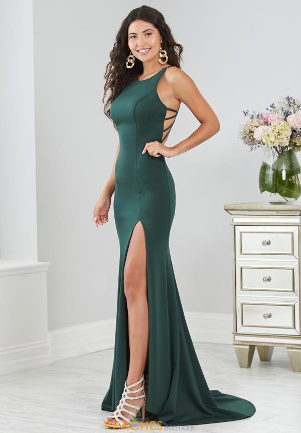 Tiffany Long Fitted Dress 46221