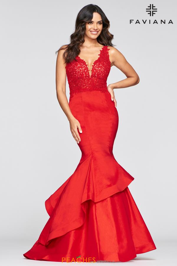 Faviana Dramatic Mermaid Dress S10242