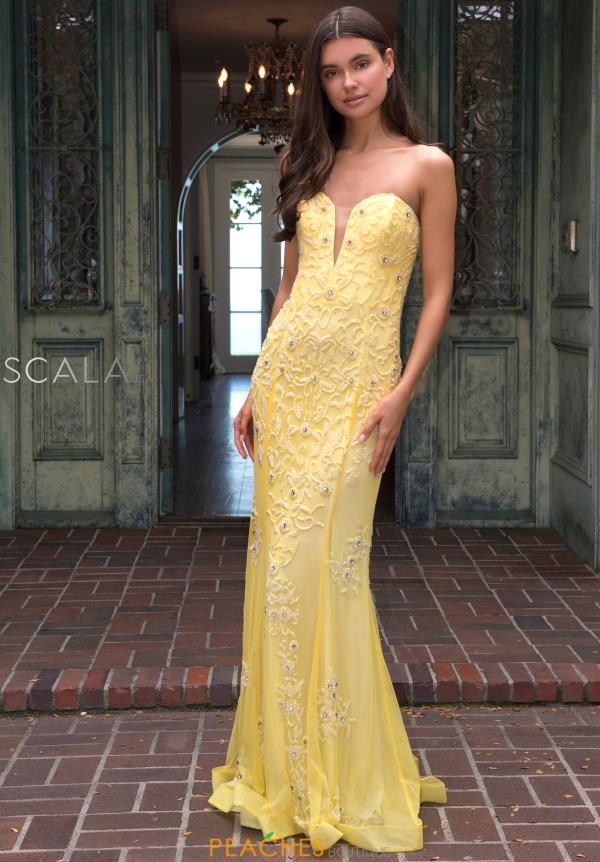 Scala Long Beaded Dress 60097
