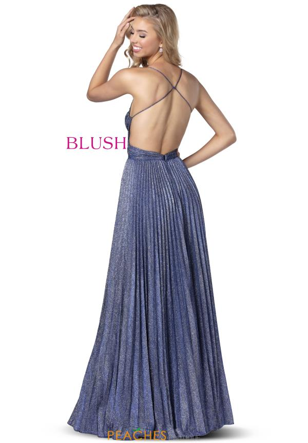 Blush Open Back Long Dress 11929