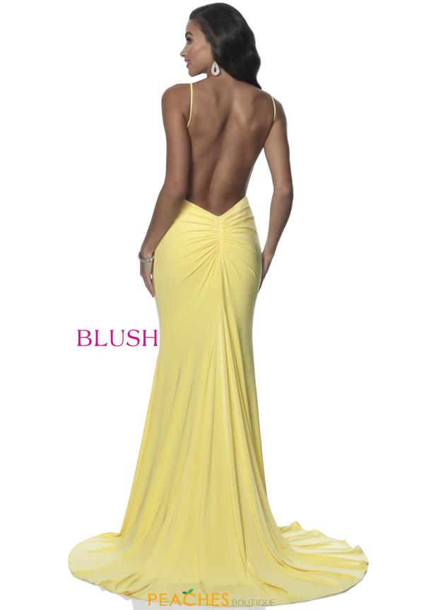 Blush Jersey Long Dress 11985