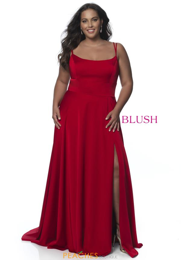 Blush Too Long A Line Dress C2095W
