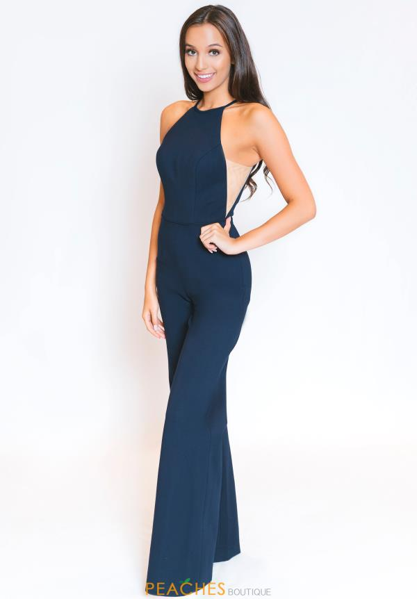 Sherri Hill High Neckline Jumpsuit 52392