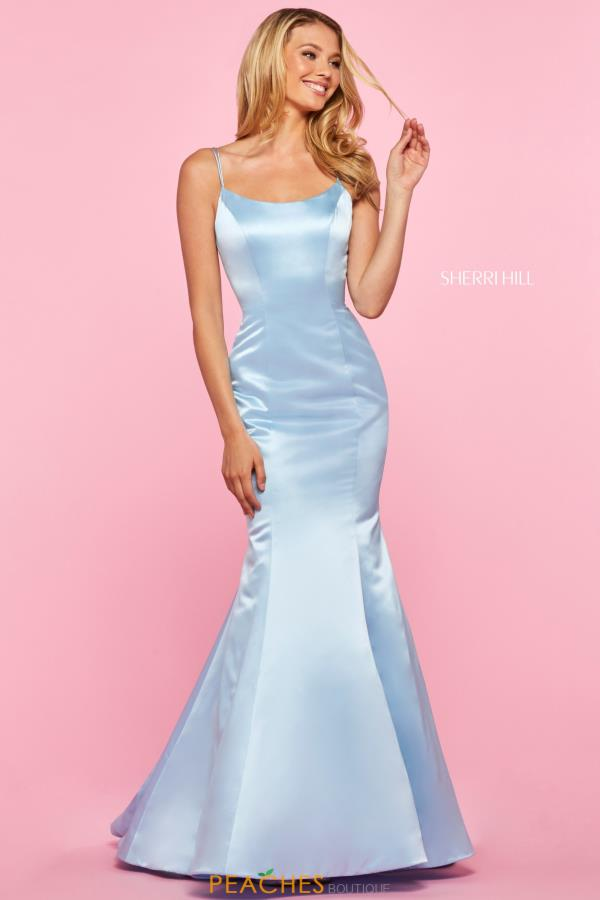 Sherri Hill Long Mermaid Dress 53354