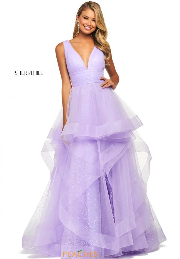 Sherri Hill Sequin Ball Gown Dress 53586