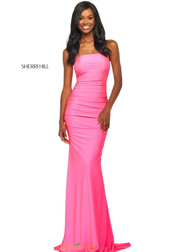 Sherri Hill Long Jersey Dress 53596