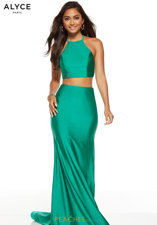 Alyce Paris Two Piece Fitted Dress 60772