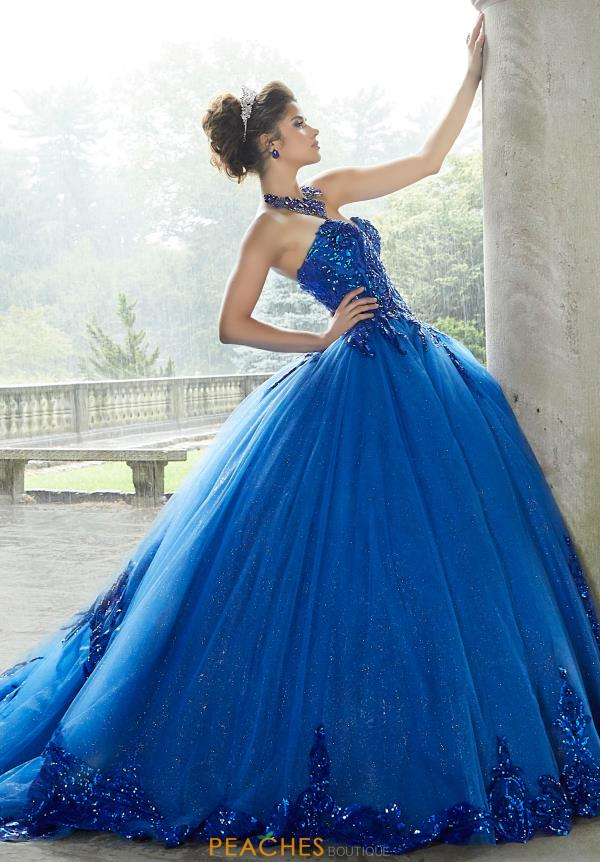 Valencia by Vizcaya Strapless Ball Gown 60110