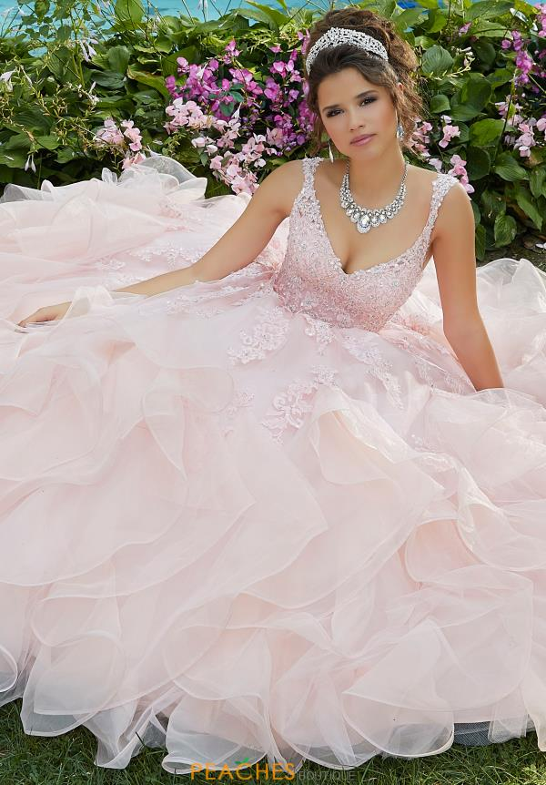Vizcaya Quinceanera Beaded Ball Gown 89262