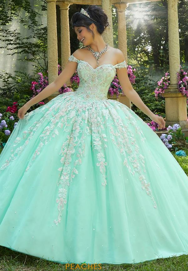 Vizcaya Quinceanera Tulle Skirt Ball Gown 89264